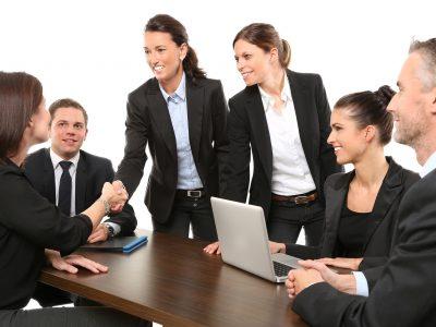 People Business Meeting Business Meeting Coworkers