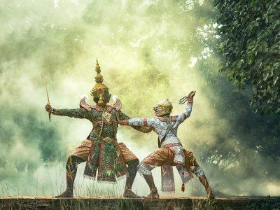 Asia Dance Bangkok Cambodia Clothing Culture
