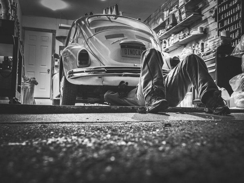 Man Car Repair Car Repair Car Workshop Repair Shop